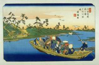 Warabi on the Kisokaido