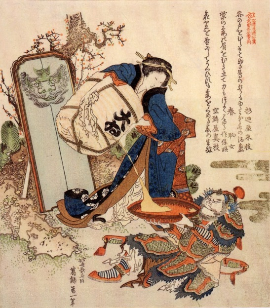The Strong Oi Pouring Sake