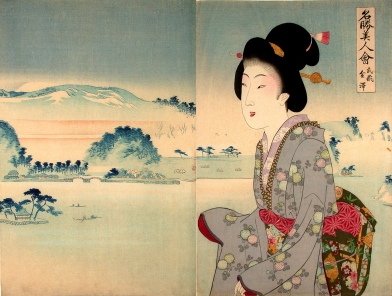 Kanazawa in Musashi Province