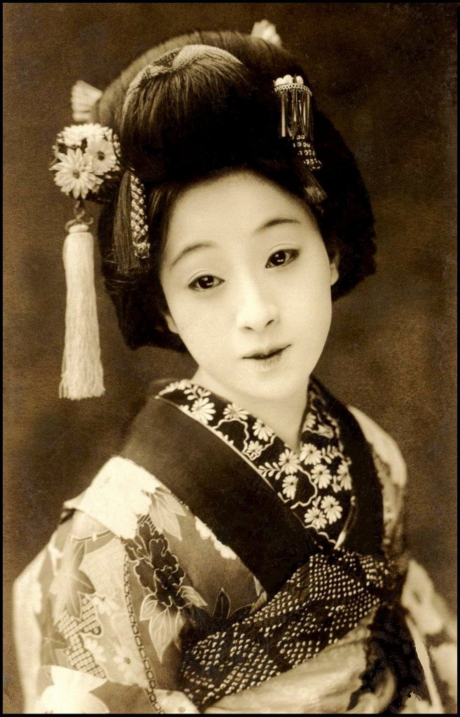 vintage geisha postcards gallery