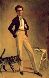 The King of Cats (Self-Portrait)