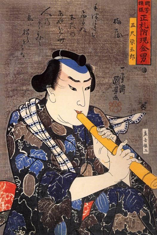 Half-length Portrait of Goshaku Somegoro
