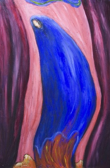 Stabat Mater Dolorosa Blue