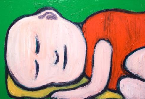 Sleeping Baby Buddha