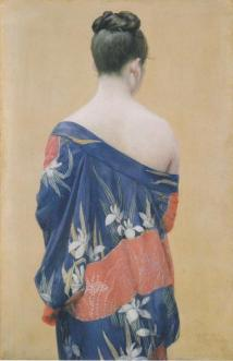 Kimono with Iris Patterns 1927