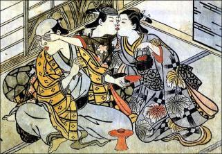 Japanese Pederasty 18th Cnetury (Nishikawa Sukenobu)
