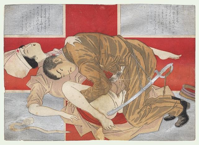 Russo-Japanese War Shunga (Eisenn Tomioka)