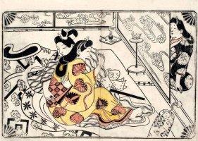 Lovers Overseen (Sugimura Jihei, mid 1680s)